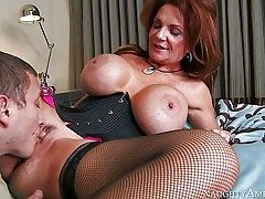 Deauxma is a uber-sexy mature nymph with fantastic massive funbags