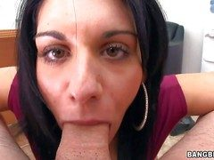 Bella Reese is a charming menacing haired MILF stranger Italy.