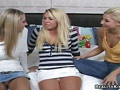 Triad lesbian chapter helter-skelter hot girls named Brynn Tyler, Nikki and Sammie Rhodes